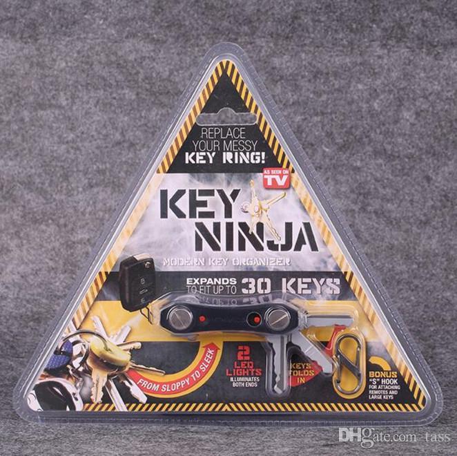 Key Ninja ... Dual LED Lights Organize Up To 30 Keys Built In Bottle Opener