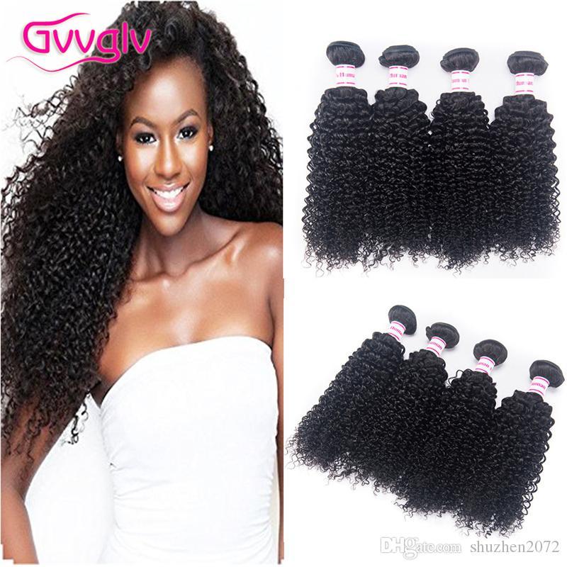 Malaysian Kinky Curly Virgin Hair Natural Color Malaysian Curly