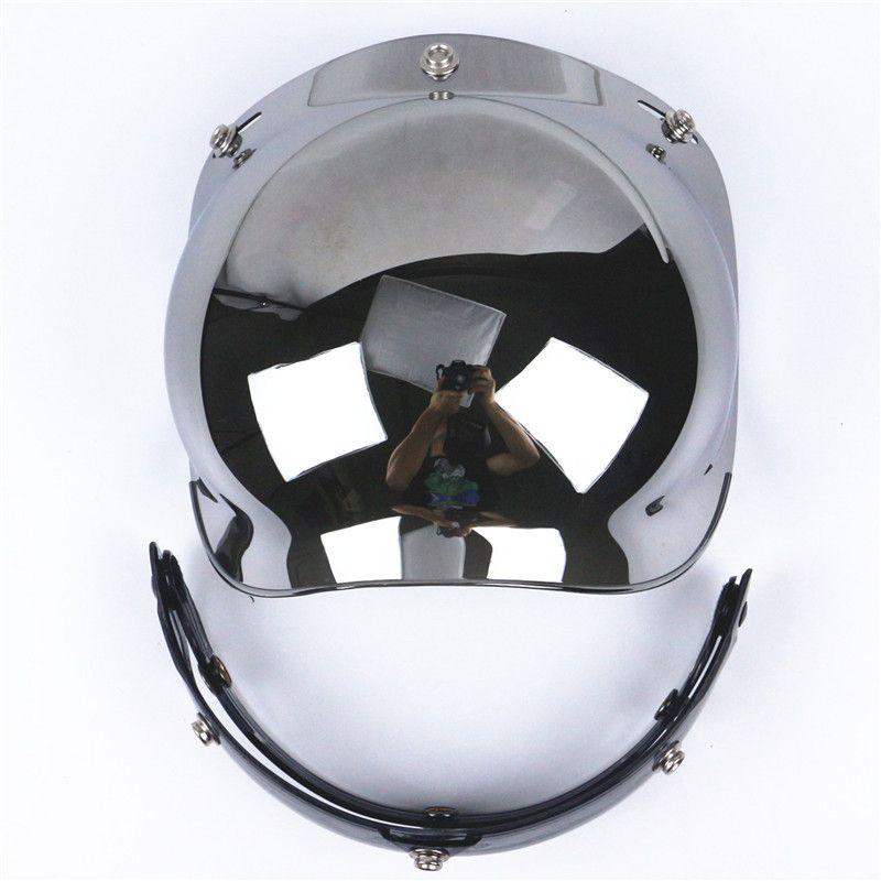 e755df65 Wholesale Top Quality Motorcycle Windshield For Vintage Helmet For Harley  Style Helmet Jet Style Helmet Bubble Visor UV 400 Protection Cool Helmets  For ...
