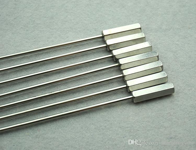 Adult supplies 7 size stainless steel stick male masturbation urethral dilation urethral stimulation device sex toys