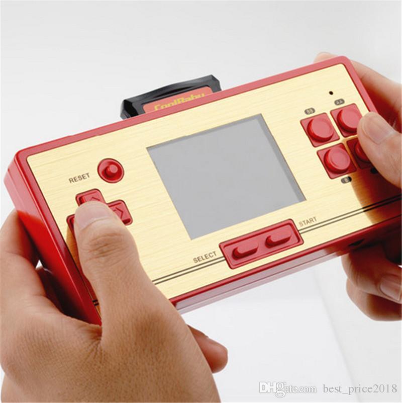 RS-20 FC карманная игра детский портативный игровой плеер 2.6-дюймовый цветной экран игровой консоли совместимый со стандартным трансформатором