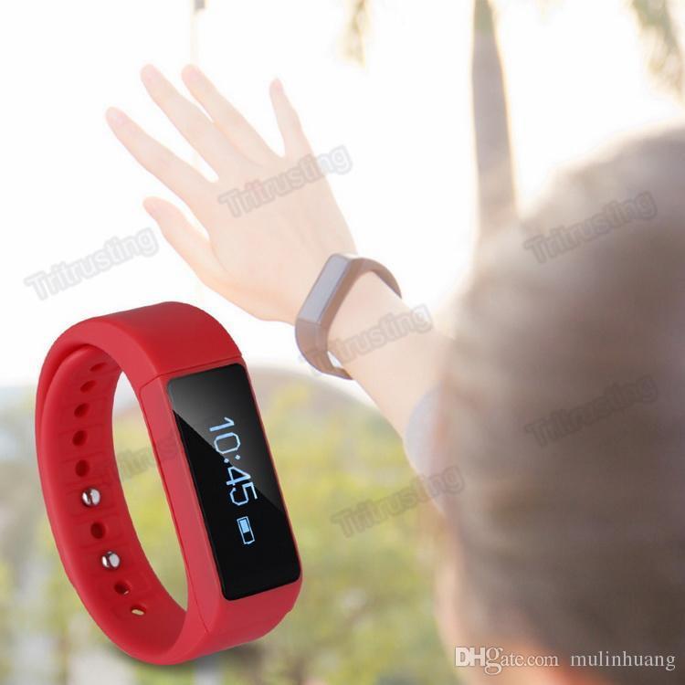 iwown i5 Plus Smart Bracelet Wristband Bluetooth 4.0 Waterproof IP68 Sleep Monitor Smartband Band Smart Bracelet MQ20