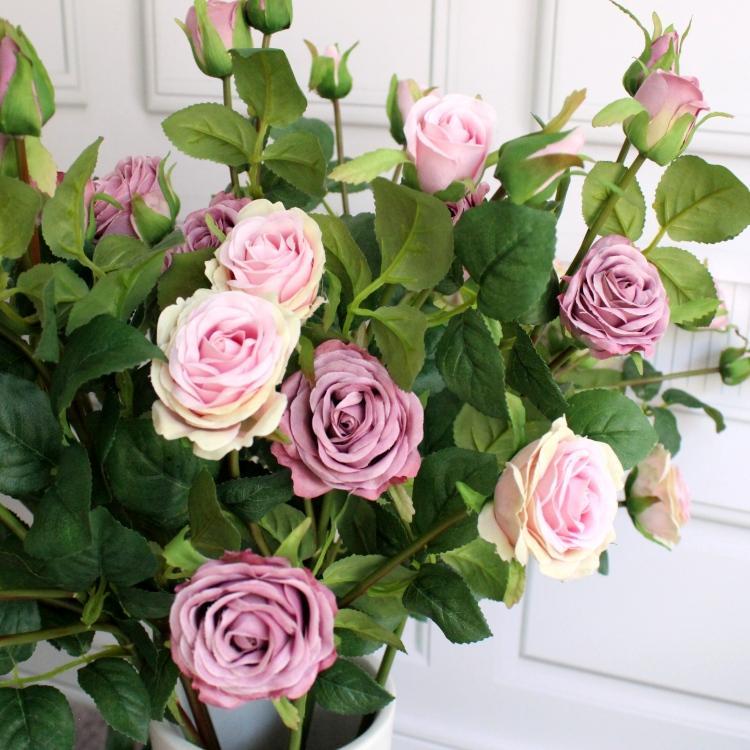 Best 5 heads little silk rose top quality artificial flower home best 5 heads little silk rose top quality artificial flower home party decoration floral arrangement under 13353 dhgate mightylinksfo