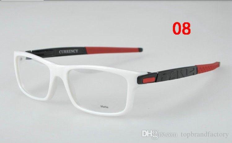 Marca de Moda Óptica Estudante miopia forte Óculos de Armação de movimento Óculos Transparentes Espetáculo Armação Óculos
