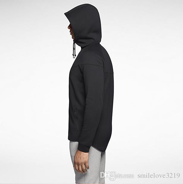 الخريف والشتاء الرياضة الترفيه الذكور مقنعين القطن سترة جديد أزياء العلامة التجارية معطف الرجل زائد الحجم L-5XL