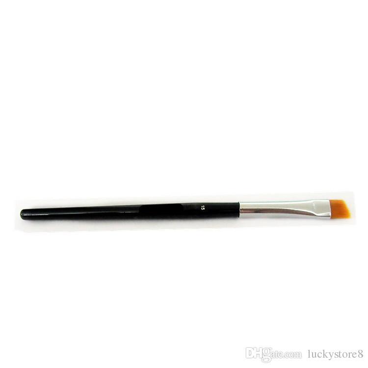 Duo Brush #12 #7 #15 #20 Makeup Brushes with Logo Large Synthetic Duo Brow Eyebrow Makeup Brushes Kit Pinceis