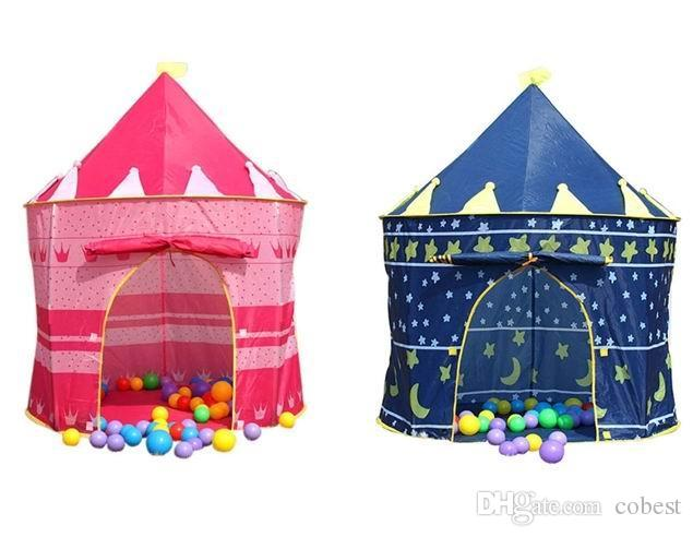 Kids Play Tents Baby House Party Tent Children Outdoor Tent Prince And Princess Palace Castle Game House Tents For Toddlers Childrens Indoor Tents From ...  sc 1 st  DHgate.com & Kids Play Tents Baby House Party Tent Children Outdoor Tent Prince ...
