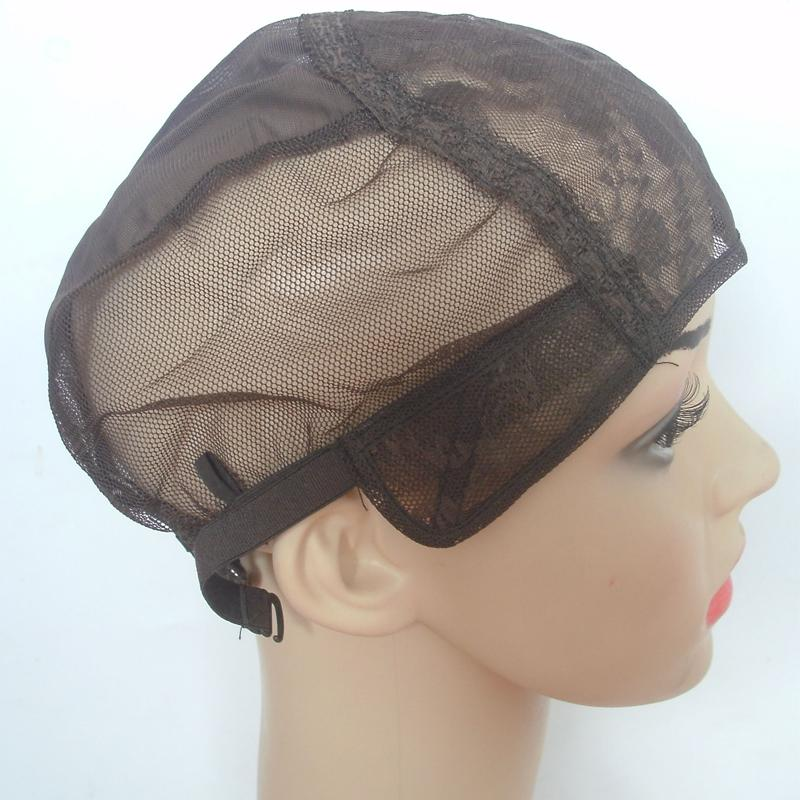 Jewish Glueless Wig Caps For Making Wig With Adjustable Strap On Back Small Medium Large X-large Black Brown Blonde