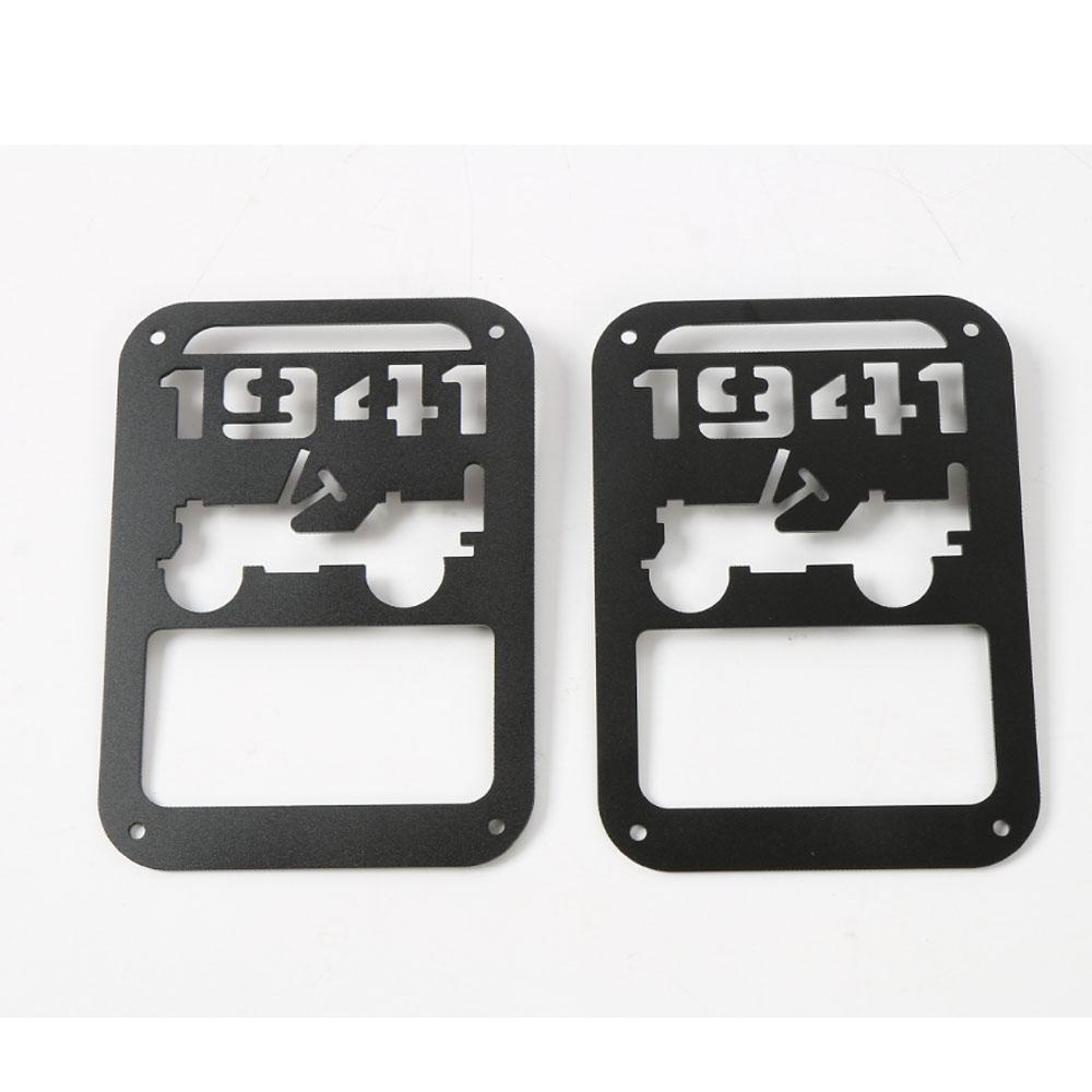 2018 1941 Style Auto Tail Light Cover Lamp Trim Protector For Jeep Wrangler  Jk 2007 2016 From Auto_parts_boy, $26.13 | Dhgate.Com