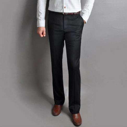 Mens bootcut dress pants