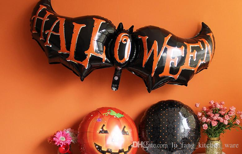 halloween decorations fashion halloween balloons demon black wings balloons diy high quality party decoration festive supplies wholesale party decorations