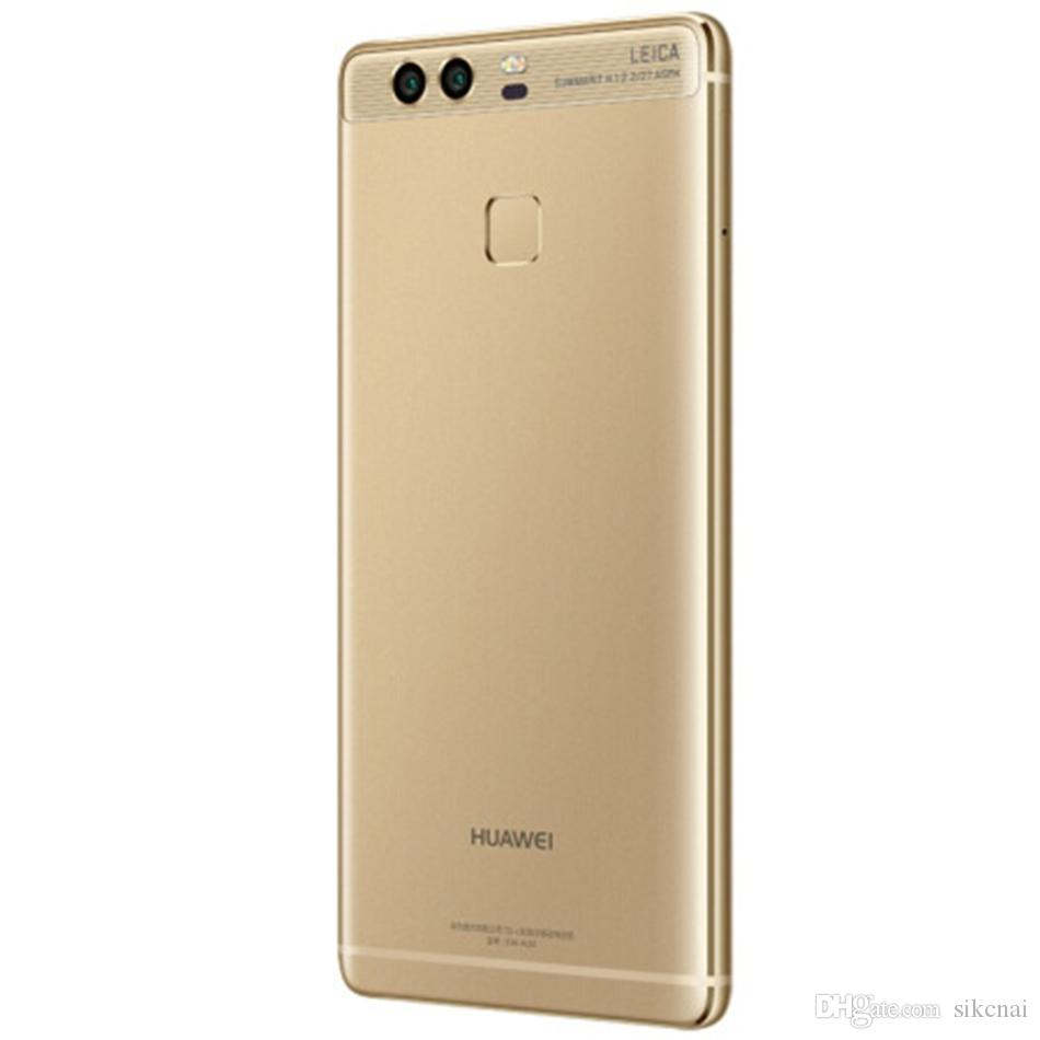 Original Huawei P9 Fingerabdruck Smartphones Hisilicon Kirin955 Octa Core 3GB RAM 32GB EMUI 12MP Mobile Phone Dual Sim 4G LTE Cell Phone