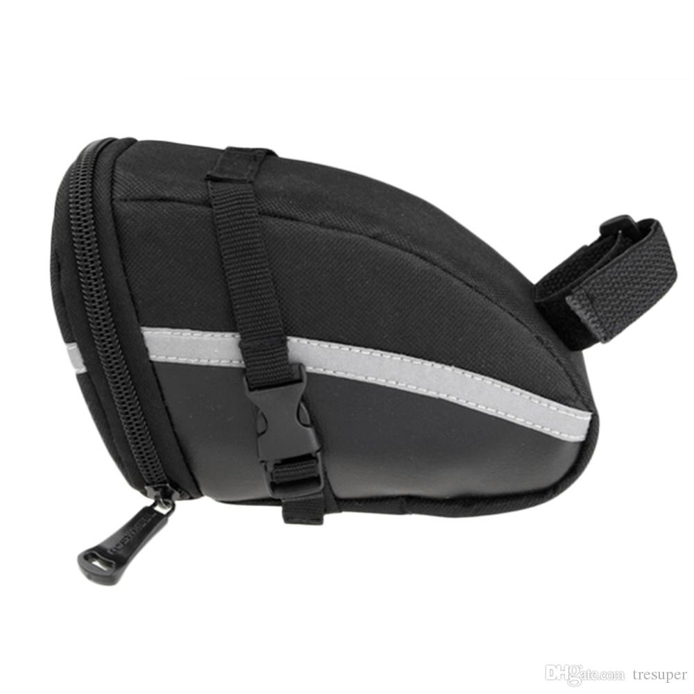 ROSWHEEL 방수 산악 도로 자전거 꼬리 가방 안장 가방 자전거 주머니 사이클링 좌석 가방 블랙