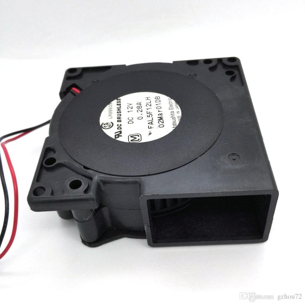 Original Panaflo FAL5F12LH DC12V 0,28A 75 * 28 MM Projektor Gebläse lüfter