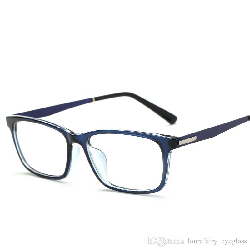 Brand Designer Eyeglass Men Women Rectangle Classical Full Rim ...