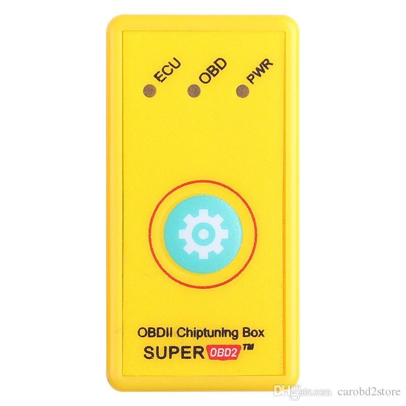 Nuovo arrivo SUPEROBD2 stesso come NitroOBD2 Performance Chip Tuning Box Benzine Cars NitroOBD2 Chip Tuning Box Spedizione Gratuita