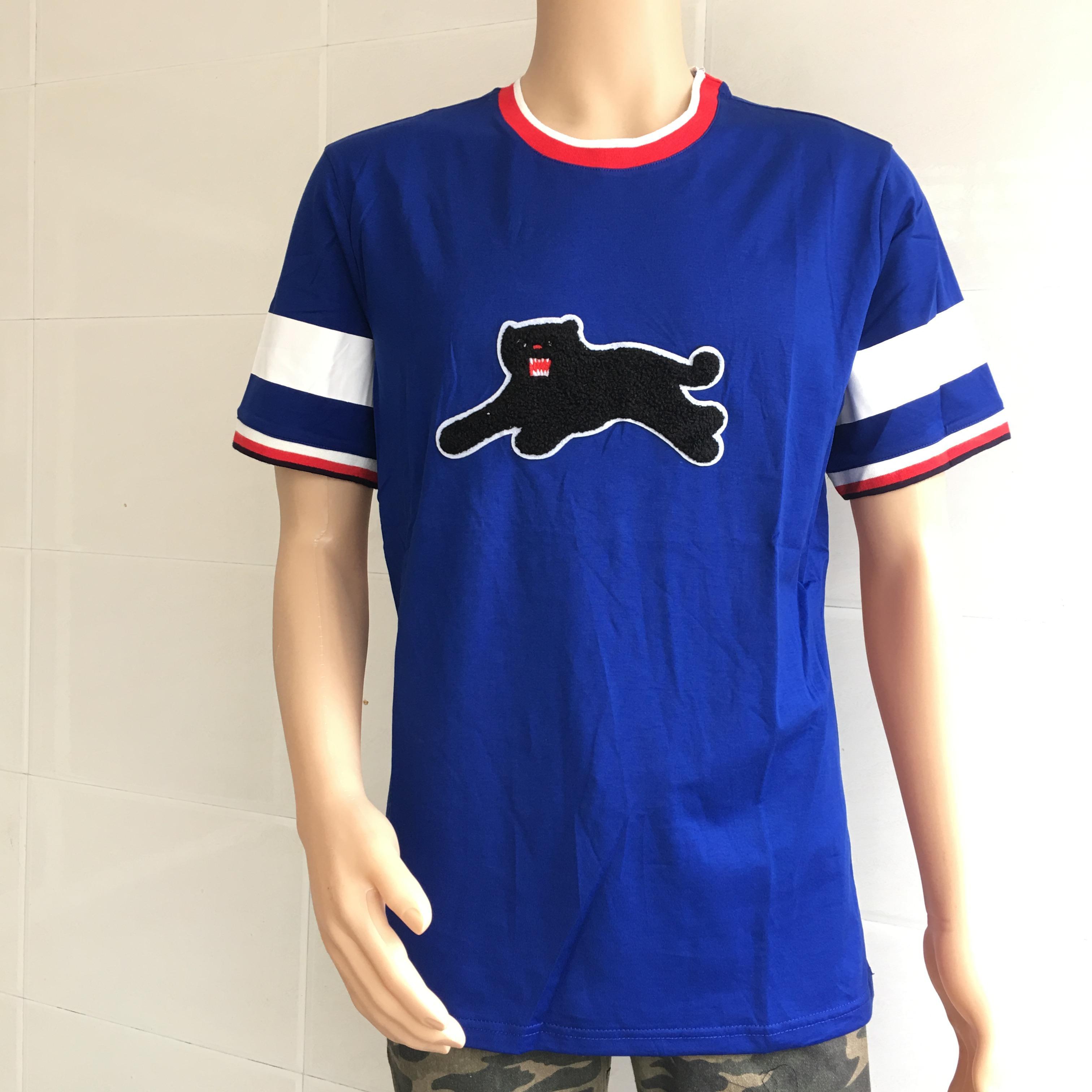 Black Leopard T Shirt Luxury Brand Clothing Black Panthers Men T ...
