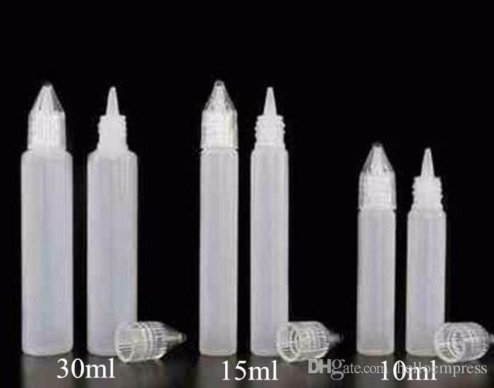 2017 Date Bouteille 10 ml 15 ml 30 ml 50 ml PE Flacons Bottle Usine Prix E Liquide En Plastique Vide Huile Mince Ejuice Stylo Bouteilles Vente