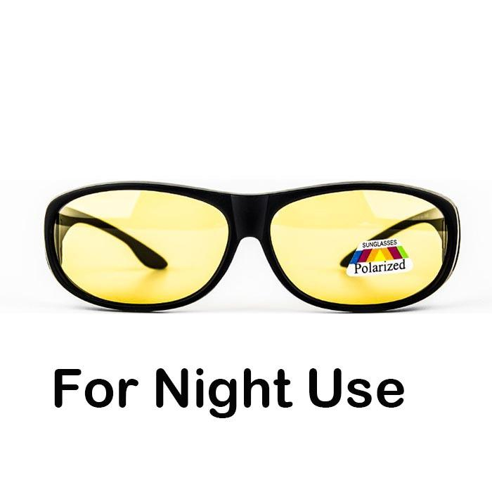 c6bc70da3bc Wholesale Night Driving Polarized Fitover Fit Over Sunglasses Block High  Beam Light Wear On Prescription Glasses Glasses Online Polarized Sunglasses  From ...