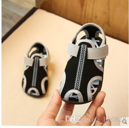 2017 summer new Korean boy children sandals shoes baby girls toddler shoes children shoes Baotou Beach