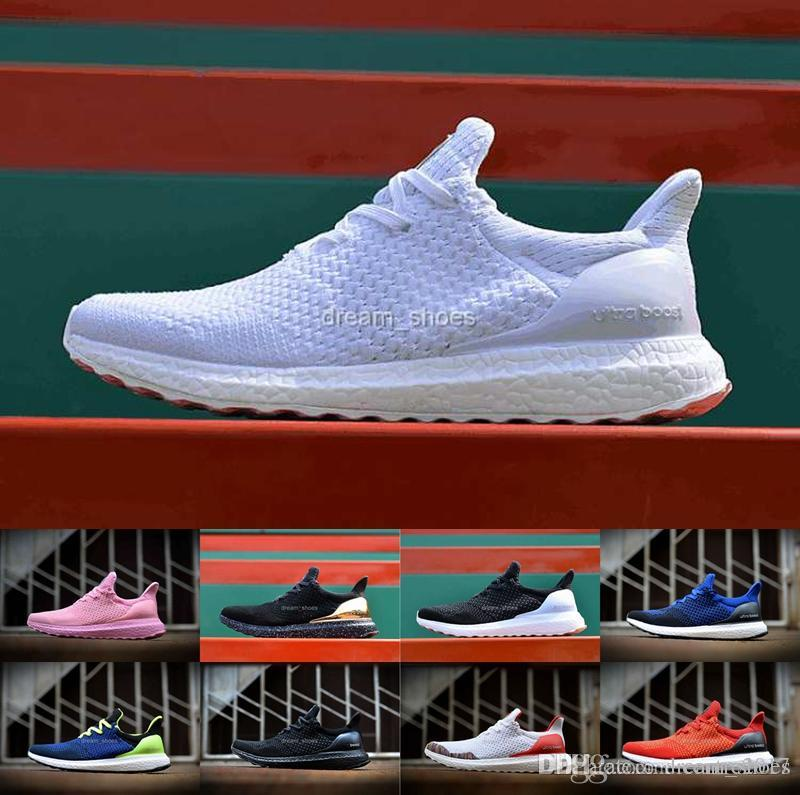 3c55c48a604e9 Latest 2016 Hypebeast X Ultra Boost Uncaged Sneakers White Black Womens  Mens Ultra Boosts Fashion Casual Running Shoes Winter Running Shoes White  Running ...