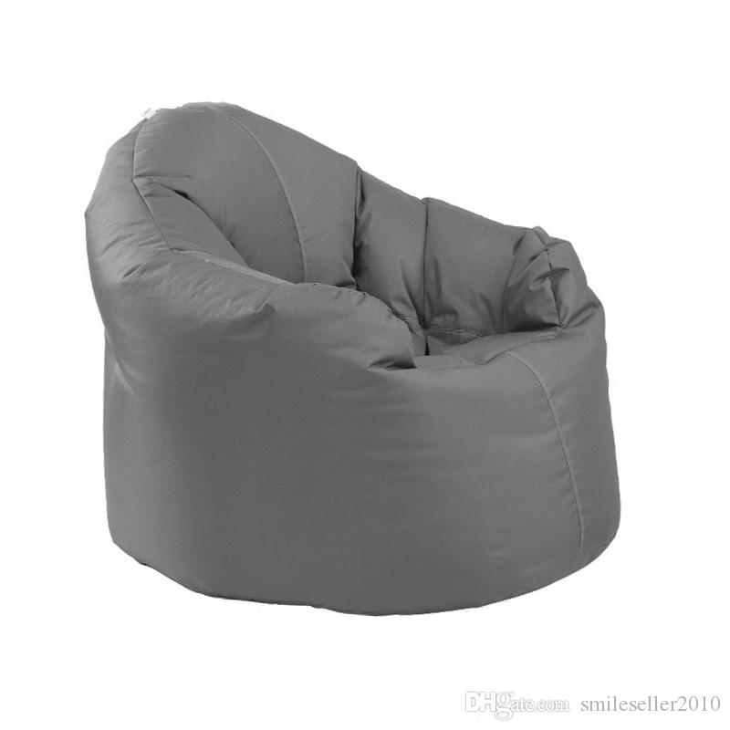 High Grade Furniture Modern Sofas Seat Comfortable Lounge Chair Lazy Sofa  Chair Couches For Living Room Bean Bag JF0098