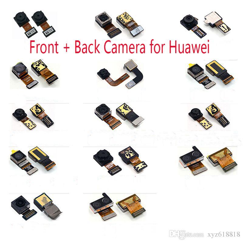 Nouveau Caméra Avant Face + Module Arrière Arrière Flex pour Huawei Ascend P6 P8 P8 Lite P8 P9 Plus P9 Lite P9 Plus Mate 7 Mate 8 Mate 9