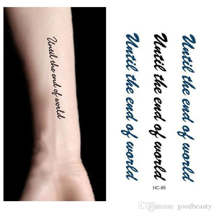 Waterproof Temporary Tattoo Stickers Men And Women Sexy Arm Shoulder