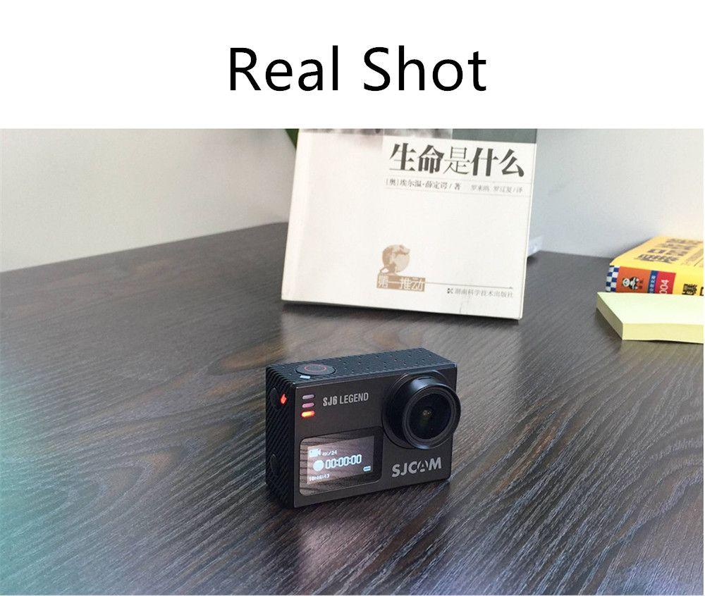 오리지널 SJCAM SJ6 LEGEND 4K 24fps 울트라 HD Notavek 96660 방수 액션 카메라 2.0