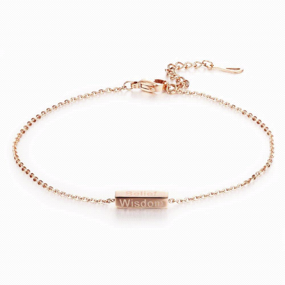 rose sparrow charm anklet gold tagged anklets collections
