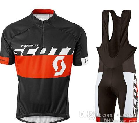 Vacove Brand New 2017 Pro Team SCOTT Cycling Jersey Black Bike Shorts Set  Ropa Ciclismo Quick Dry Pro Cycling Wear Bicycle Maillot Culotte Womens  Padded ... 8d29fd0f1