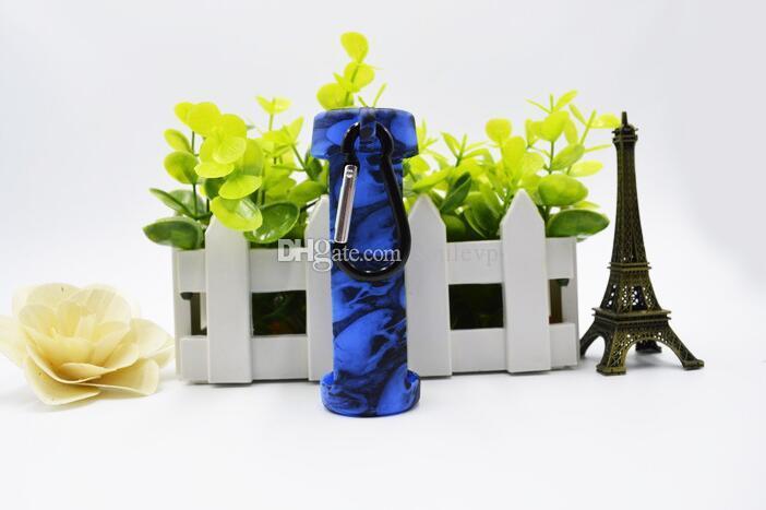 New design skull head Bottle case cover Pen shape Unicorn Bottle Silicone Cover for 60ml bottlebottle case Chubby PET Dropper