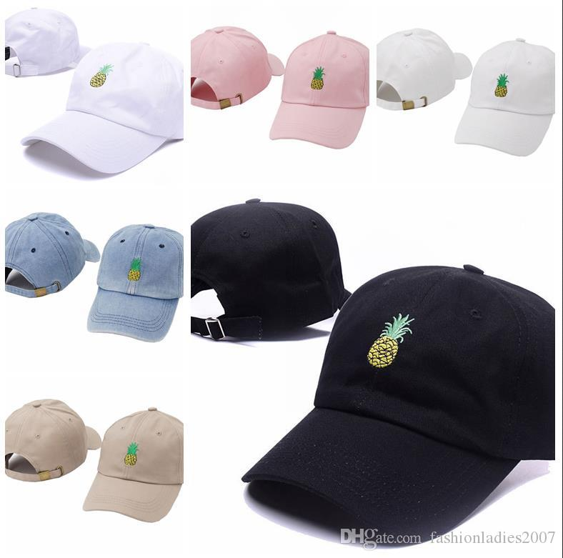 0fea4df679d Fashion Pineapple Baseball Cap 2017 New Snapback Hats And Caps for ...