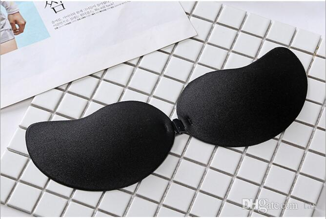 Mulheres V Forma Silicone Auto Magia Push Up Strapless Sutiãs Invisíveis Backless Invisible Silicone Bra