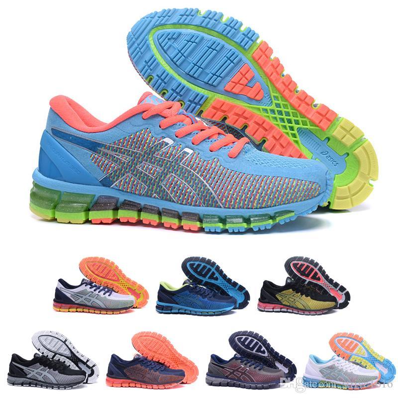 b70e10b20b2cf5 Großhandel Asics GEL QUANTUM 360 Puffer Laufschuhe T6G6N 3901 Männer Frauen  Sport Sneaker Designer Schuhe Größe 36 45 Von Strive1616