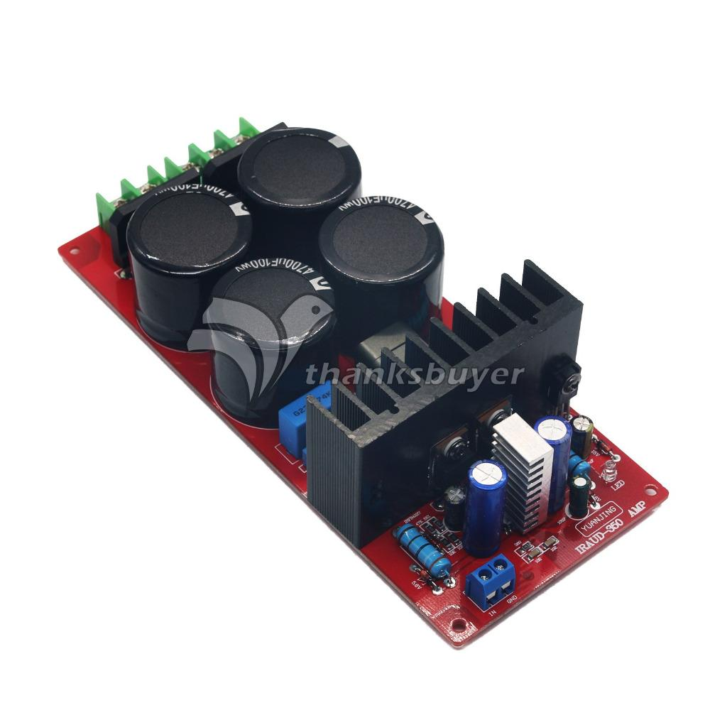 Yj Iraud350 700w 4ohm Mono Audio Power Amplifier Board Class D Amp 25 Watt Classd Circuit Assembled From Kbeer 4041