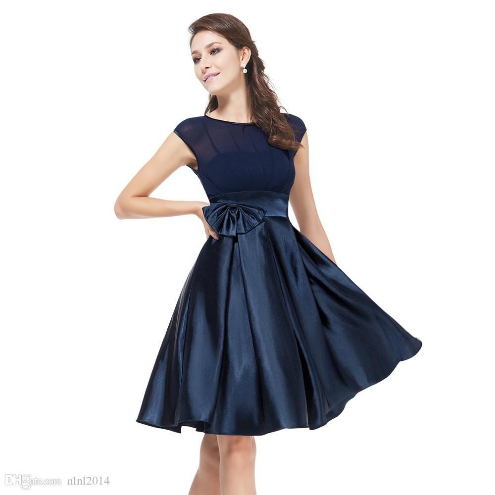 Groß Blau Cocktailkleider Plus Größe Fotos - Hochzeit Kleid Stile ...