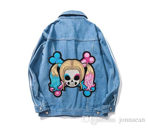 Baby Quinn Girl Skull & Crossbones Patch, Ladies Back Embroidery Iron On Or Sew On Patches 8.75*8.5 INCH