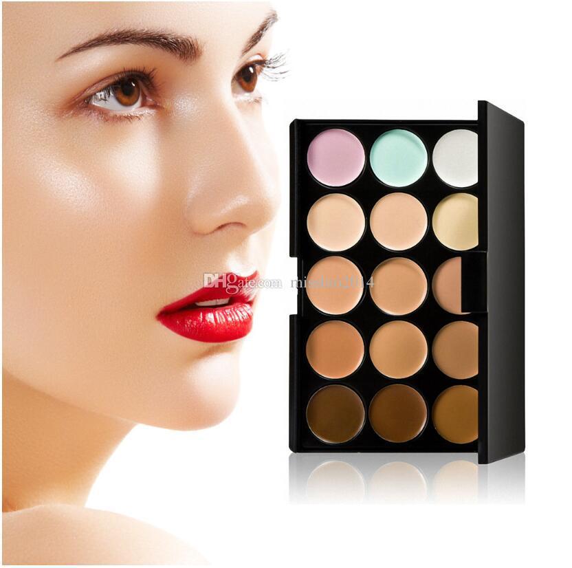 Paleta de corrector profesional es Crema de rostro facial Cuidado base de maquillaje de camuflaje Paletas cosméticas con regalo Vía DHL / FEDEX / UPS / TNT