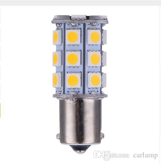 1156 1157 5050 27SMD LED Car Light Source Xenon Bulb Auto Brake Reversing Turn Signal Lights Parking Lamps DC12V S25