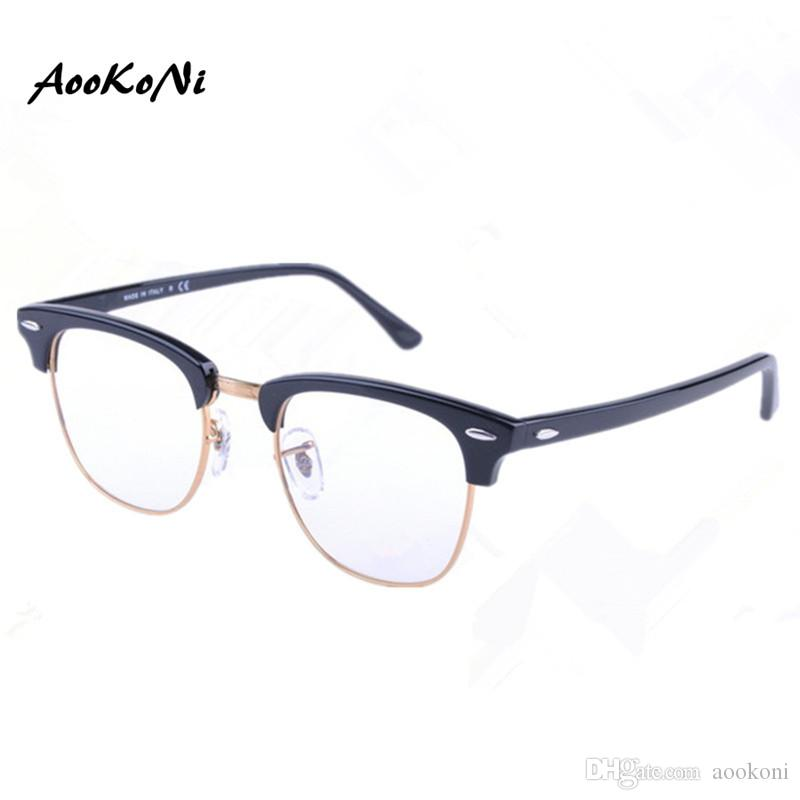 AOOKONI AK5154 Eyeglasses Frame Women Men Computer Optical Glasses ...