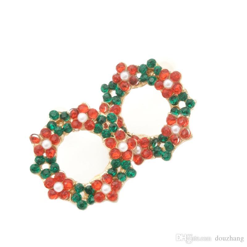 Mode Petite Mignon Guirlande Oreille Boucle D'oreille Cercle Fleur Floral Boucles D'oreilles Cadeau Bijoux Accessoire En Gros es