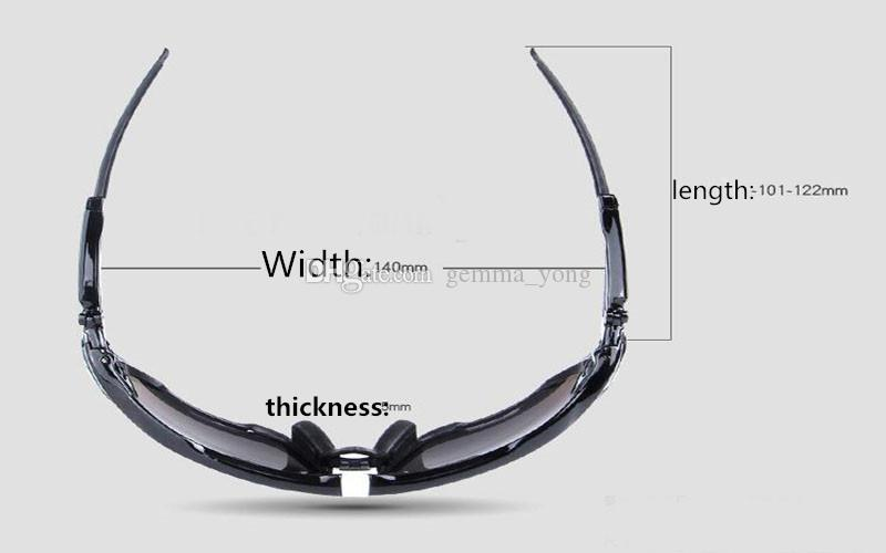2020 Поляризованные марка Велоспорт Солнцезащитные очки Спортивные очки Велоспорт Горный велосипед очки Сменная 3 объектива Открытый Велоспорт очки