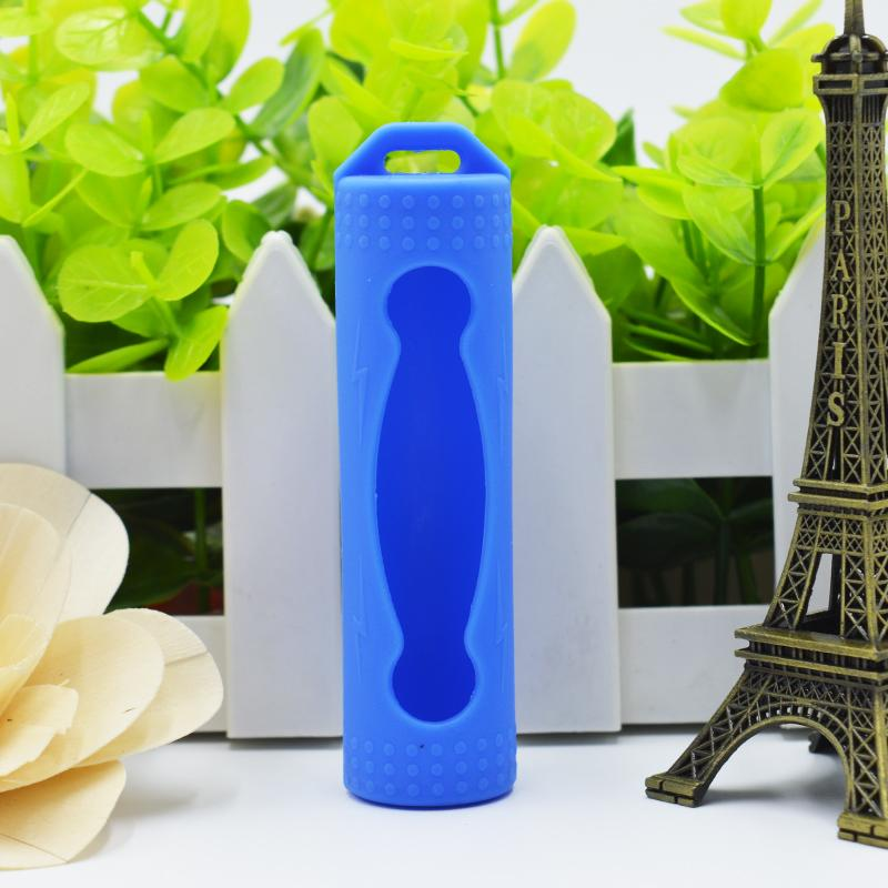 Cubierta protectora de la piel del silicón de la batería 20700 Proteja la protección segura Cajas de goma coloridas para las baterías de Ijoy Sanyo 20700