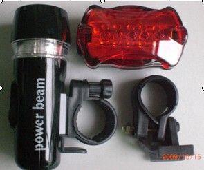2 1 Bisiklet Başkanı Işık Emniyet Arka Bisiklet Fener Lamba 5 LED Işıkları Set Kuyruk Işık Aksesuarları