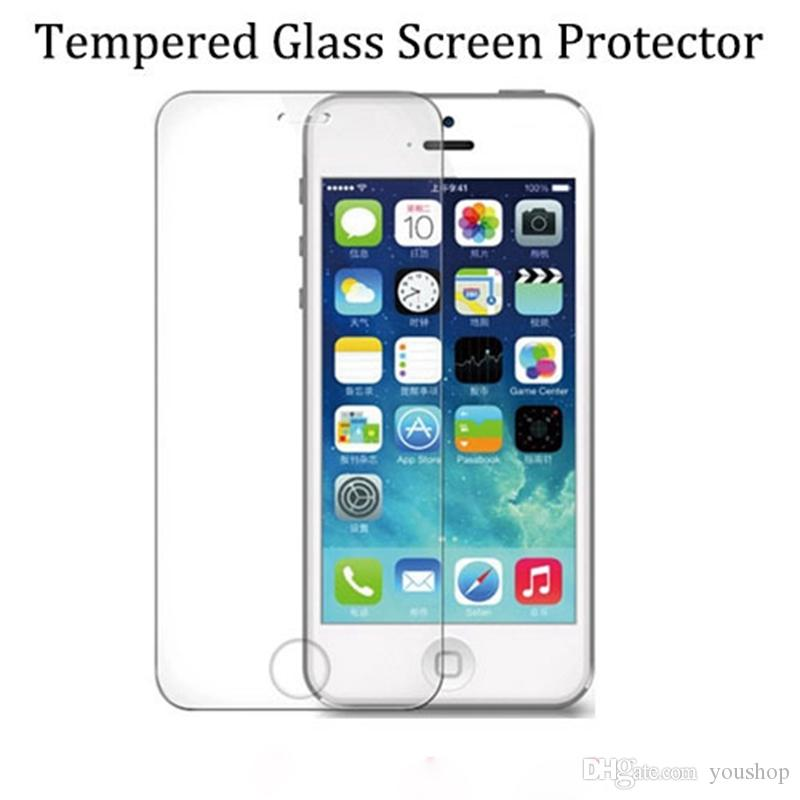 0.3mm High Definition Clear Mobile Tempered Glass Screen Protector for iphone 7 4.7 with Retail Package