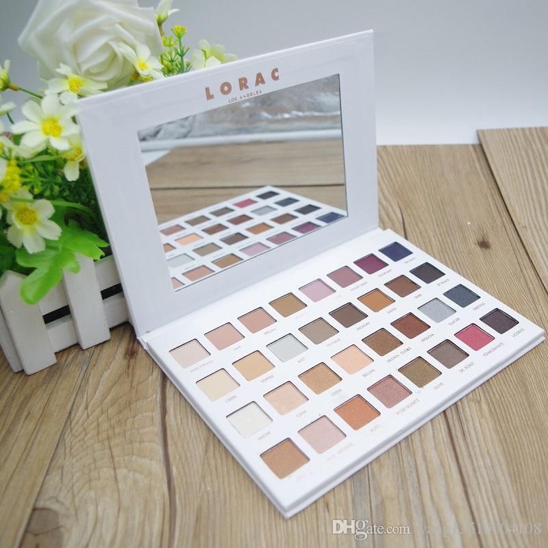 Plus récent Limited Edition Cosmetics Lorac Mega Pro 3 Palette de fard à paupières 32 couleurs Palette Shimmer Matte Marques Eye Shadow Palette DHL Maquillage