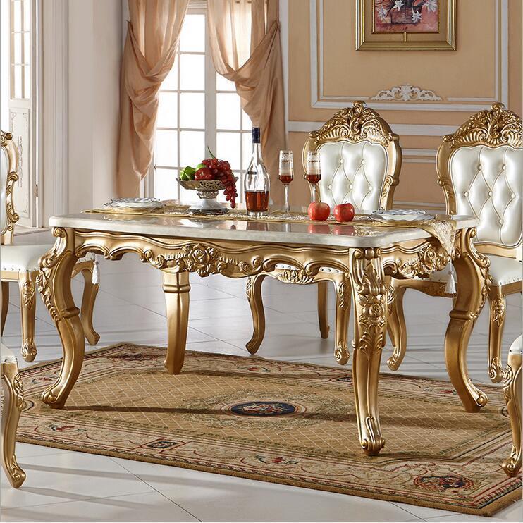 Großhandel Neue Ankunft Heißer Verkauf Modern Style Italienischen Esstisch,  100% Massivholz Italien Stil Luxus Esstisch Gesetzt Pfy10079 Von Tengtank,  ...