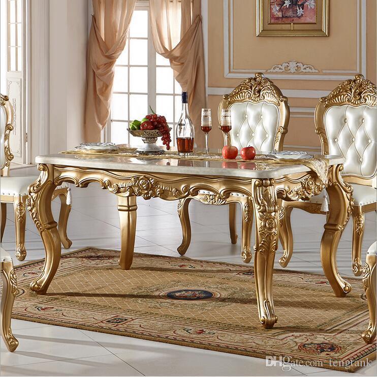 New Arrival Hot Selling Modern Style Italian Dining Table, 100% Solid Wood  Italy Style Luxury Dining Table Set Pfy10079 Dining Table Dinner Table  Online ...
