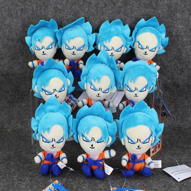 Best Dragonball Dragon Ball Z Super Saiyan Son Goku Vegeta Plush Toy Keychain Pendant Soft Stuffed Doll Under 2714